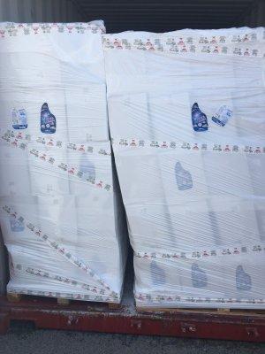 Rỏ rỉ nước xả vải trong container - 14